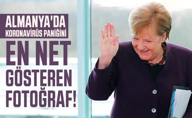 Almanya'da koronavirüs paniği zirveye oturdu! Bakan'dan Merkel'e dikkat çeken hareket