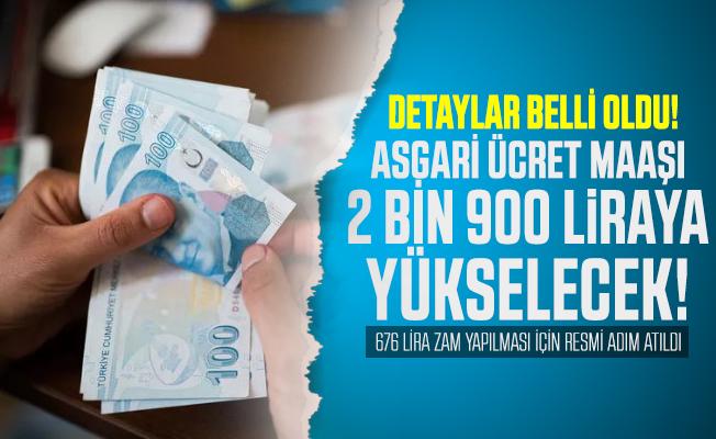 2020 Asgari ücrete 676 lira zam yapılması için resmi adım atıldı! Kanun teklifi verildi