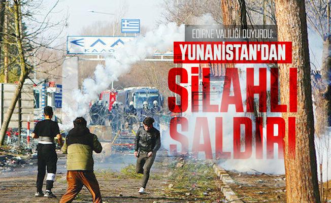Edirne Valiliği duyurdu: Yunanistan'dan mültecilere silahlı saldırı!