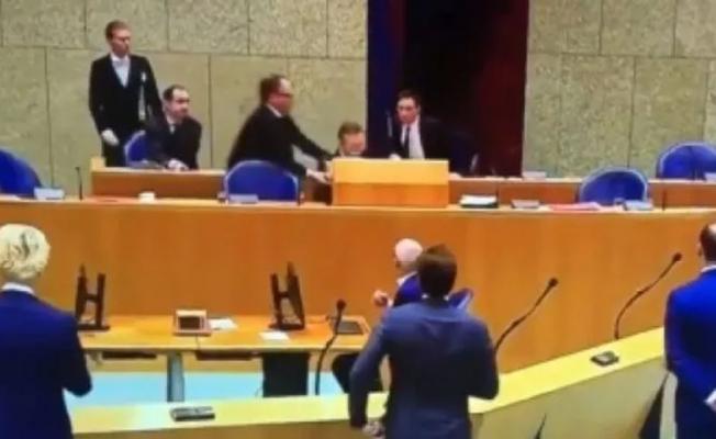 Hollanda Sağlık Bakanı koronavirüs oturumunda bayıldı!