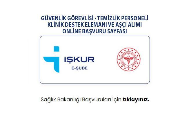 İŞKUR Sağlık Bakanlığı kadrosuna ilköğretim ve lise mezunu 14 bin işçi alımı yapacak!