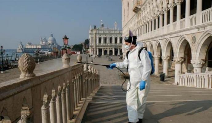 Koronavirüs yüzünden İtalya'da bir günde tam 793 kişi öldü!