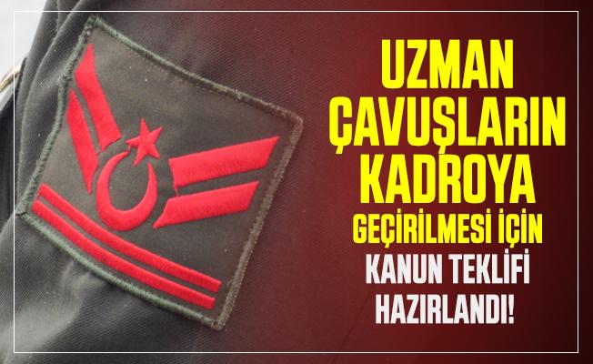 MHP Milletvekili İzzet Ulvi Yönter duyurdu: Uzman Çavuşların kadroya geçirilmesi için kanun teklifi hazırlandı!