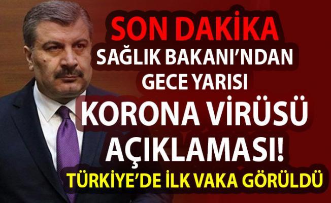 Sağlık bakanı Koca'dan Son dakika korona virüsü açıklaması! Hudut ve Sağlık çalışanlarının izinleri iptal edildi