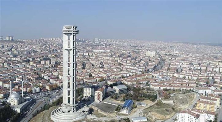 100 milyon liraya mal olacak Keçiören Cumhuriyet Kulesi'nin ihalesi yapıldı!
