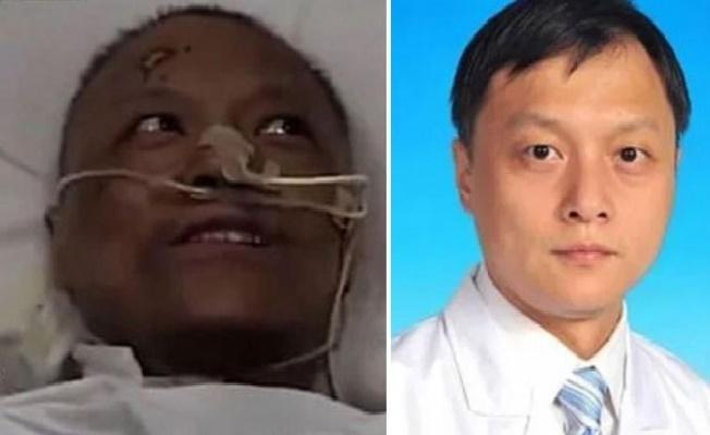 Uzmanlar Sebebini Açıkladı! Çin'de İki Doktorun Ten Rengi Covid-19 Nedeniyle Değişti