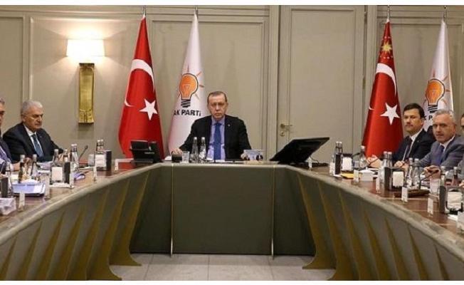 Erdoğan, Partisinin MYK Toplantısında Önemli Noktalara Değindi
