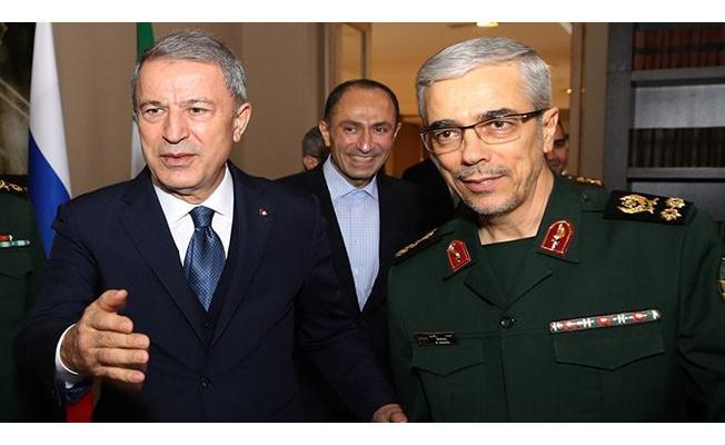 Hulusi Akar, İran Genelkurmay Başkanı İle Görüştü
