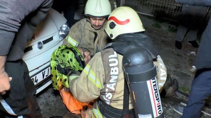 İstanbul'da patlama! 1'i ağır 4 kişi yaralandı!