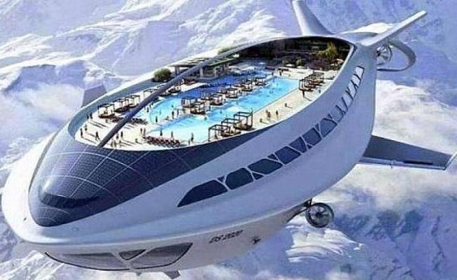 İşte Türk Firmanın Yaptığı Havadaki Otel