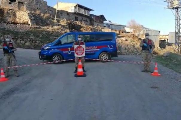Posof ilçesine bağlı Kol köyü karantina altına alındı!