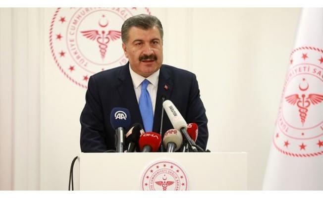 Son dakika Bakan Koca Türkiye'de 38.226 koronavirüs vakası olduğunu ve 87 kişinin daha hayatını kaybettiğini açıkladı!