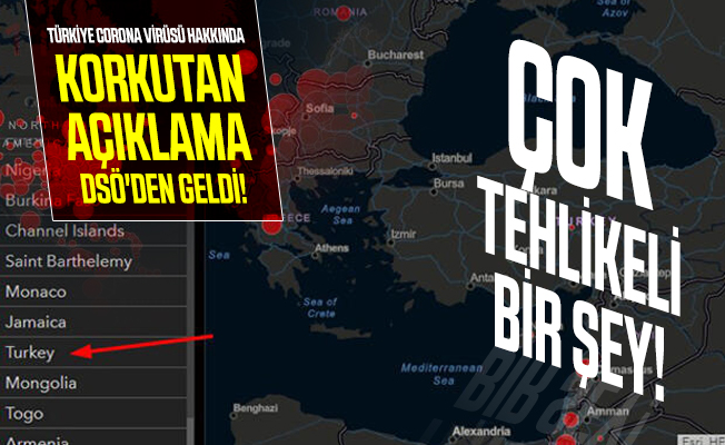 Türkiye corona virüsü hakkında korkutan açıklama DSÖ'de geldi! Çok tehlikeli bir şey!