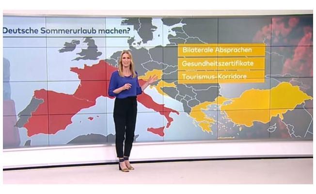Türkiye'de vaka sayısı düşünce Alman televizyonu 'tatile gidin' önerisinde bulundu!