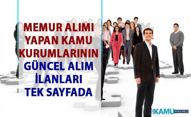 29 Mayıs güncel kamu iş ilanları! KPSS'li ve KPSS'siz personel alımı yapılacak!