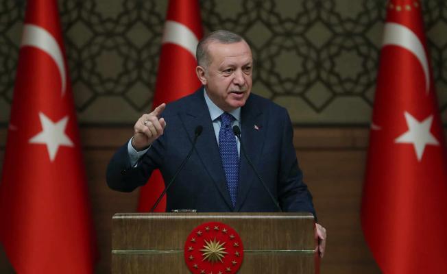 Cumhurbaşkanı Erdoğan çok sert tepki gösterdi! Alçak zihniyetin ürünüdür!