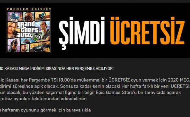EPİC Games ile GTA 5 bedava oldu! GTA 5 ücretsiz indirme nasıl yapılır? Epic Games girişi için tıklayınız