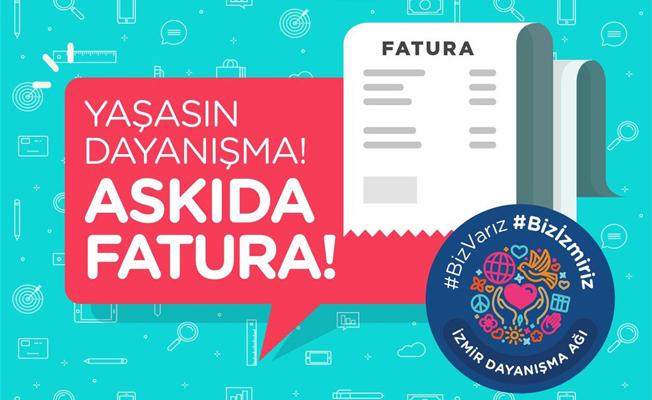 İstanbul'dan sonra İzmir'de de askıda fatura sosyal yardım başlatıldı!