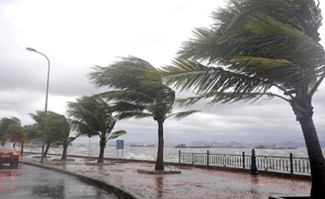 Meteoroloji'den son dakika kuvvetli fırtına uyarısı yapıldı! Hızı 75 km/sa olacak!