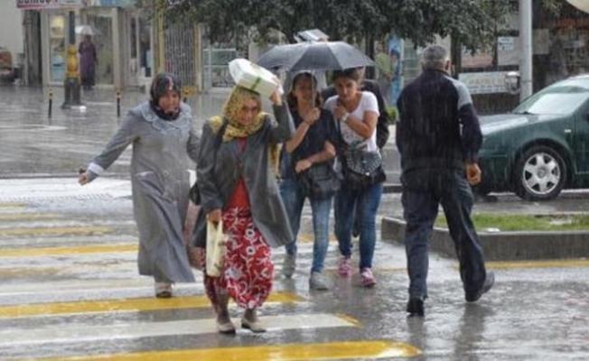 Meteoroloji il vererek uyarı yaptı! Çok kuvvetli sağanak yağış geliyor! Önleminizi alın