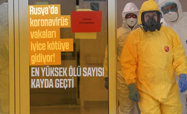 Rusya'da koronavirüs vakaları iyice kötüye gidiyor! En yüksek ölü sayısı kayda geçti