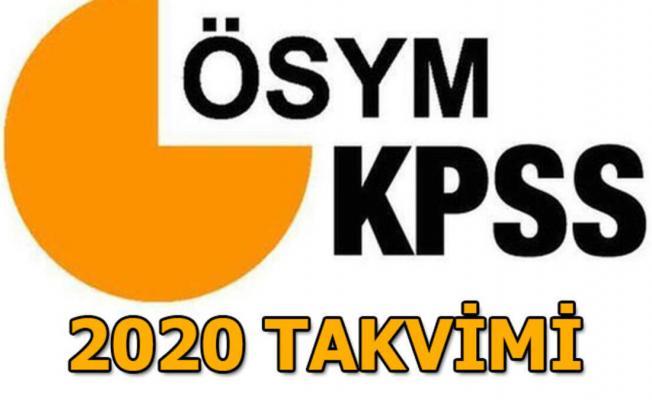 2020 KPSS Ortaöğretim ve Önlisans başvuruları ne zaman? ÖSYM 2020 KPSS sınav takvimi
