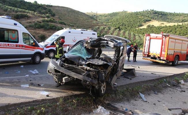 2 ilde korkunç kaza meydana geldi! 9 kişi yaralandı