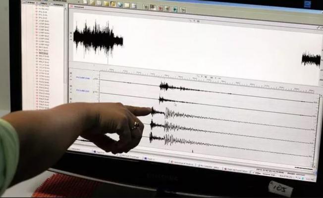 ABD'de  büyük bir deprem oldu