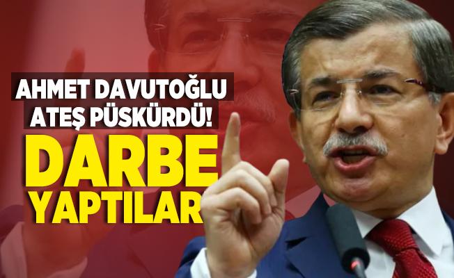 Ahmet Davutoğlu Şehir Üniversitesi kararı sonrasında ateş püskürdü! Darbe yaptılar!