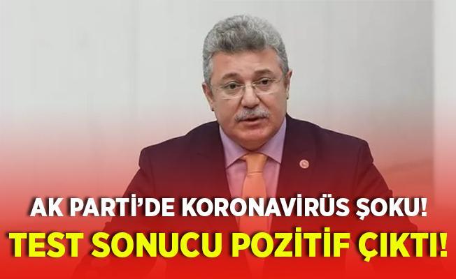 AK Parti'de koronavirüs şoku! Grup Başkanvekili'nin test sonucu pozitif çıktı!