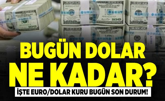 Bugün dolar ne kadar? Euro/dolar kuru bugün son durum!