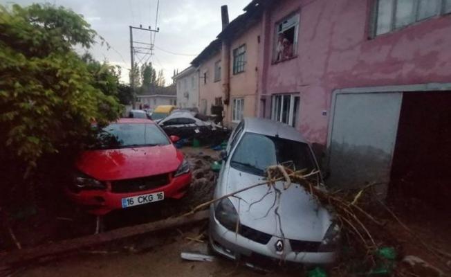 Bursa'nın Kestel ilçesinde meydana gelen sel felaketinde 2 kişi hayatını kaybetti!