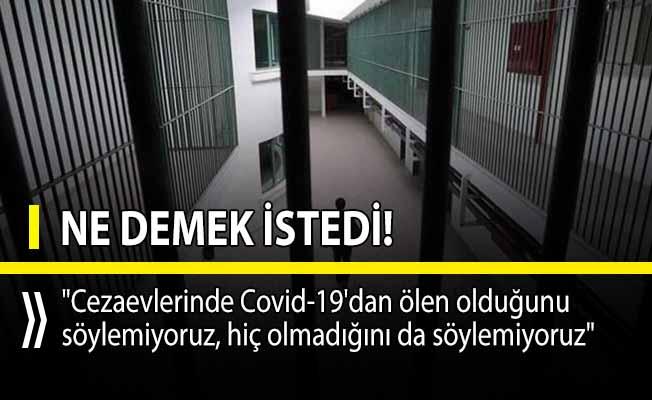 Cezaevlerinde Covid-19 yüzünden ölen olup olmadığını Adalet Bakanı Yardımcısı yanıtladı!
