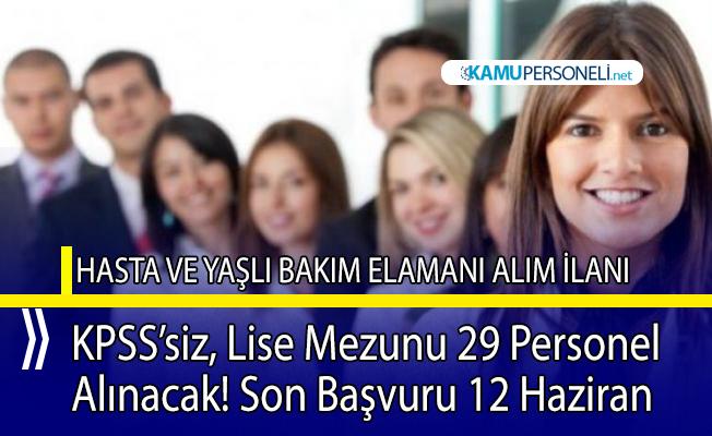 Dokuz Eylül Üniversitesi hastanesine 29 personel alımı yapılacak!