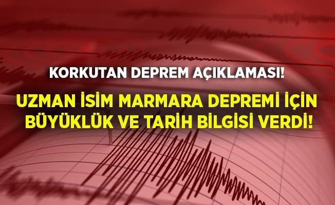 Meydana gelen depremler sonrasında Marmara Depremi için kritik uyarı geldi! Uzman isim Marmara Depremi'nin büyüklüğünü ve tarihini verdi!
