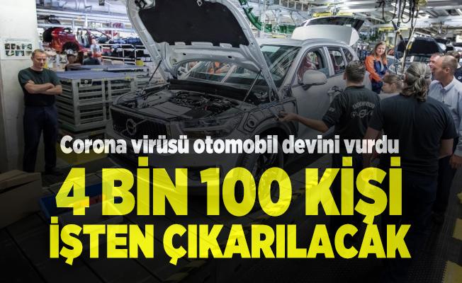 Otomobil devinden işçileri üzen corona virüs kararı! 4 bin 100 kişi işten çıkarılacak
