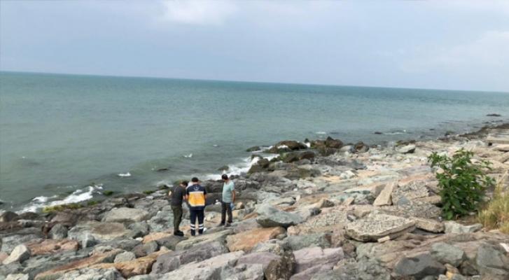 Rize'nin Pazar ilçesi sahilinde bir erkek cesedi bulundu