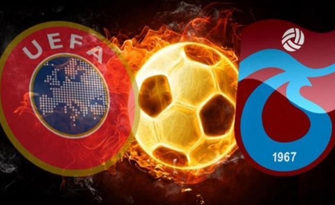 UEFA'dan Trabzonspor'u şok eden karar! Avrupa'dan men edildi