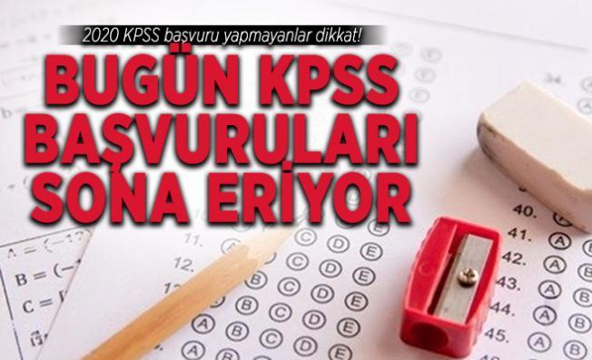 2020 KPSS başvuru yapmayanlar dikkat! Bugün KPSS başvuruları sona eriyor