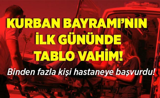 Acemi kasaplar hastanelere koştu! İstanbul'da tablo çok vahim! Binden fazla..