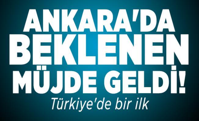 Ankara'da beklenen müjde geldi! Corona virüs salgınında Türkiye'de bir ilk