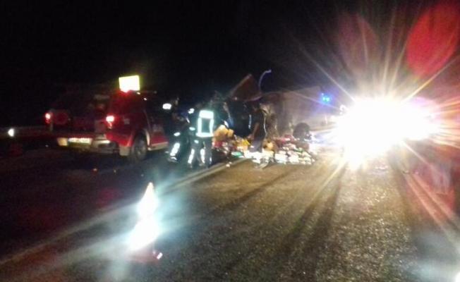 Antalya'nın Akseki ilçesinde trafik kazası! 2 ölü 4 yaralı