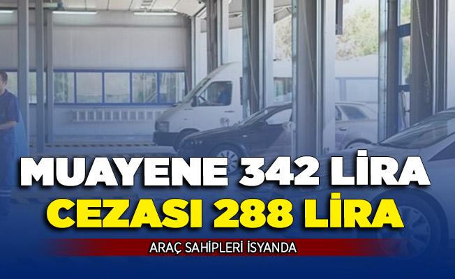 Araç Sahipleri İsyanda! Muayenesiz Araç Cezası 288 Lira, Muayene Yaptırmak 342 Lira