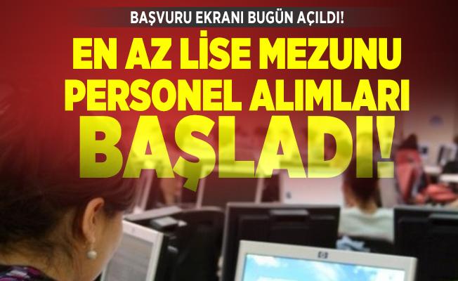 Başvuru ekranı bugün açıldı! Türkiye Şeker Fabrikaları en az lise mezunu personel alımları başladı!