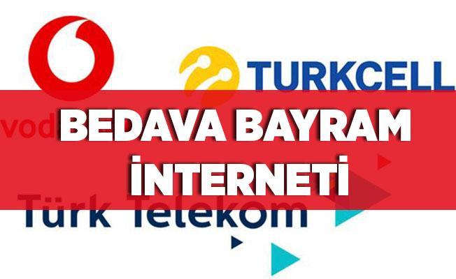 Bedava bayram interneti! Bedava internet nasıl alınır? Turkcell, Vodafone, Türk Telekom bedava bayram interneti