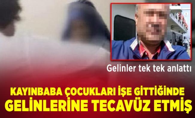 Bursa'da kayınbaba gelinlerine defalarca tecavüz etmiş! Gelinler yaşadıklarını tek tek anlattı