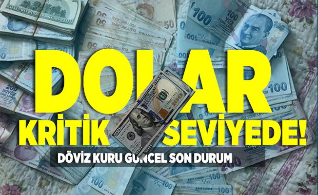 Dolar kritik seviyede! Döviz kuru güncel son durum