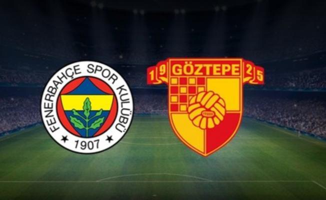 Fenerbahçe Göztepe maç sonucu belli oldu mu? İlk 11'de kimler var?