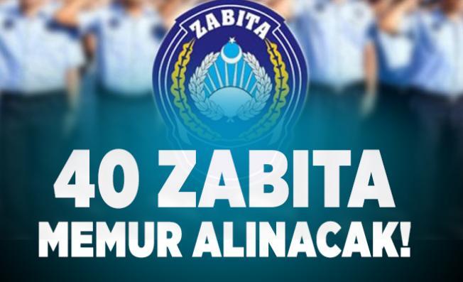 İstanbul Üsküdar Belediyesi 40 zabıta memur alımı yapacak