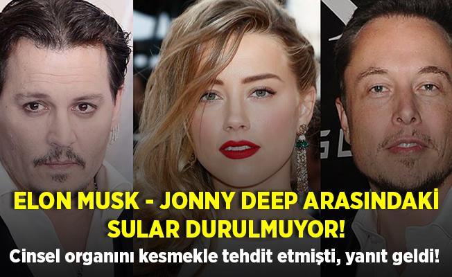 Şoke eden iddia! Jonny Depp, Elon Musk'ı cinsel organını kesmekle tehdit etmiş! CEO'dan Depp'e kafes dövüşü teklifi!